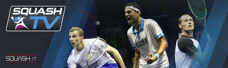 Watch Live Professional Squash!