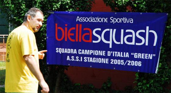 Biella Squash ospita presso il Centro Sportivo Pralino l'11° SUMMER SQUASH FESTIVAL!