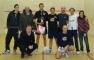 Il gruppo di giocatori al Trofeo INTESA di IV Categoria a Cagno