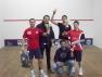 I primi 4 classificati al Trofeo SAT di IV Categoria al Clan Fitness di Torino