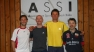 I 4 semifinalisti ai Nazionali CSAIN di IV Categoria: Goffi, Panara, Fadi e Gabbiati