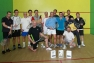Il folto gruppo presente al primo Trofeo OSSOLA SQUASH a Villadossola