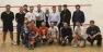 Il gruppo presente al Trofeo WIND di I Categoria allo Squash Club Bolzano