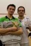 Davide Fadi e Stefano Rabaglio, vincitore e 2° classificato al Trofeo VICTOR di III Categoria al Gymnic Club di Vergiate