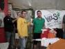 Giuliano Gabrielli, vincitore del Trofeo POLO POSITIVO di IV Categoria al Planet Squash di Lonato