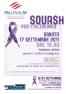 Torneo Open di beneficenza: Trofeo Squash per l'ALZHEIMER