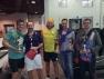 Il gruppo premiato al Trofeo Victor di sabato 17 marzo allo Squash e non solo di Brescia