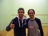 I vincitori del Trofeo Bergamo Squash di categoria IV e LIGHT