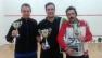 Il podio del Trofeo PERFECT di IV Categoria a Cesena