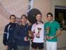Il podio del Trofeo VICTOR di I Categoria al GetFit di Milano