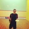 Marco Tapparo, vincitore del 1° torneo di III Categoria della Stagione