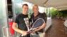 Attilio Menichetti, vincitore del Trofeo Squash per l'Alzheimer al Millennium di Brescia