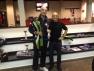 Gianfranco Dal Pio premiato allo Squash e non solo di Brescia al termine della vittoria del Trofeo VICTOR di categoria LIGHT