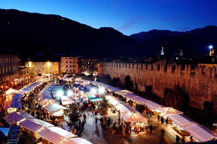 Il mercatino di Trento...