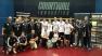 La premiazione in occasione della Coppa Campioni di Squash a Praga
