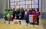 Il podio degli Europei a Squadre Femminili