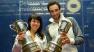 Nicol David e Ramy Ashour, premiati per la vittoria dello U.S. OPEN a Philadelphia