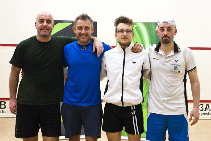 I 4 semifinalisti a Nazionali Individuali di II Categoria
