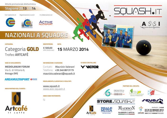 Poster Squadre GOLD 2014
