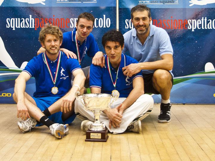 La Squadra del GET-FIT MILANO, campione nazionale di Categoria LIGHT