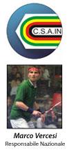 Marco Vercesi: Responsabile Nazionale CSAIN per lo Squash