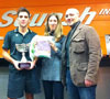 Massimiliano Bertola conquista il Trofeo SQUASHINN a Parma