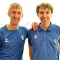 Marcus Berrett a sinistra e Davide Bianchetti a destra si sfideranno domenica 4 dicembre in un esibizione al Millennium