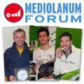 I tre vincitori al Forum del Trofeo DUNLOP di categoria II, IV e LIGHT: Gianpietro Morandi, Riccardo Ottaviani e Paolo Merialdi