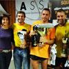 Il primi tre classificati al Trofeo DOUBLE AR di II Categoria