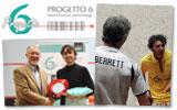 Luca Mastrostefano, vincitore del Progetto 6 PSA Closed, e Davide Bianchetti e Marcus Berrett durante l'esibizione al Millennium