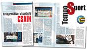 """Leggi lo speciale del Festival CSAIN 2012 sul mensile """"TempoSport"""" di Giugno!"""