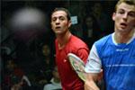 Amr Shabana conquista lo US Open 2011 battendo in finale il n.1 del mondo Nick Matthew