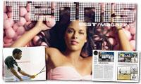 TennisBest Magazine è in Edicola e parla anche di Squash!
