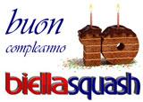 Biella Squash compie 10 anni... Tanti auguri da Squash.it!