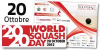 World Squash Day: 20 Ottobre 2012 - Millennium Sport&Fitness, Brescia