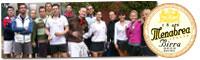 Il folto gruppo di giocatori e giocatrici LIGHT presenti al 1° Trofeo BIRRA MENABREA a Biella!