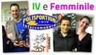 Luigi Magno e Marta Dalla Torre vincono il IV Categoria e il Femminile al Palasport di Cagno