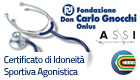 Convenzione A.S.S.I. - Fondazione Don Carlo Gnocchi per Certificato di Idoneità Sportiva Agonistica