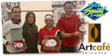 Il podio del Trofeo ARTCAFÈ di I Categoria che si è svolto sabato 27 al palasprint di Parma