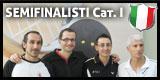 I 4 semifinalisti dei Nazionali Individuali CSAIn A.S.S.I. di I categoria!