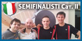 I 4 semifinalisti dei Nazionali Individuali CSAIn A.S.S.I. di II Categoria