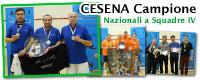 La Squadra 2010 CESENA SQUASH è la nuova Squadra Campione CSAIn A.S.S.I. di IV Categoria!