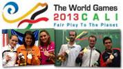 Wolrd Games 2013: Colombia - A Gaultier e David la Medaglia d'Oro