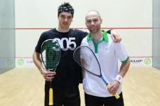 LJ Anjema e Piedro Schweertman, finalisti ai Campionati Nazionali Olandesi