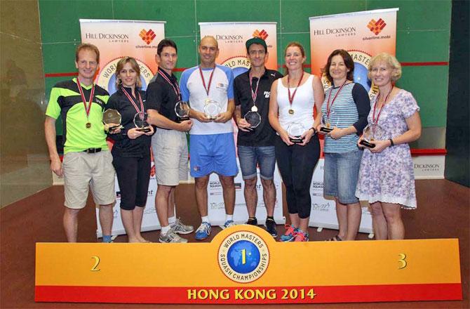 Alcuni dei prestigiosi vincitori dei World Master 2014 disputati a Hong Kong!