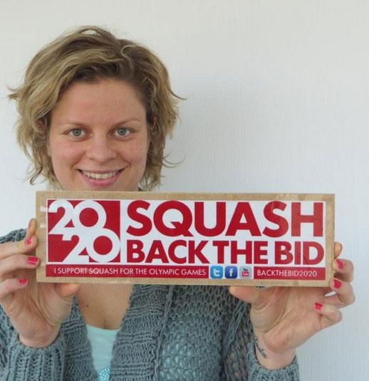 Kim Clijsters Baks the Olympic Squash Bid 2020