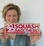Kim Clijsters Back The Bid - Squash 2020