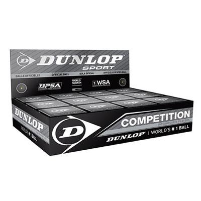 Scatola 12 Palline Dunlop Competition (Punto Giallo)