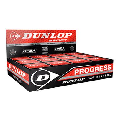 Immagine Scatola 12 Palline Dunlop Progress